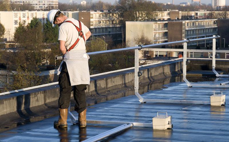 Vlutters Voordeel | Inruilkortingen dakrandbeveiliging