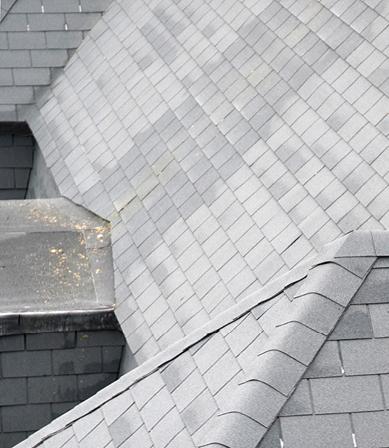 Voordelen van dakshingles op (licht) hellende daken