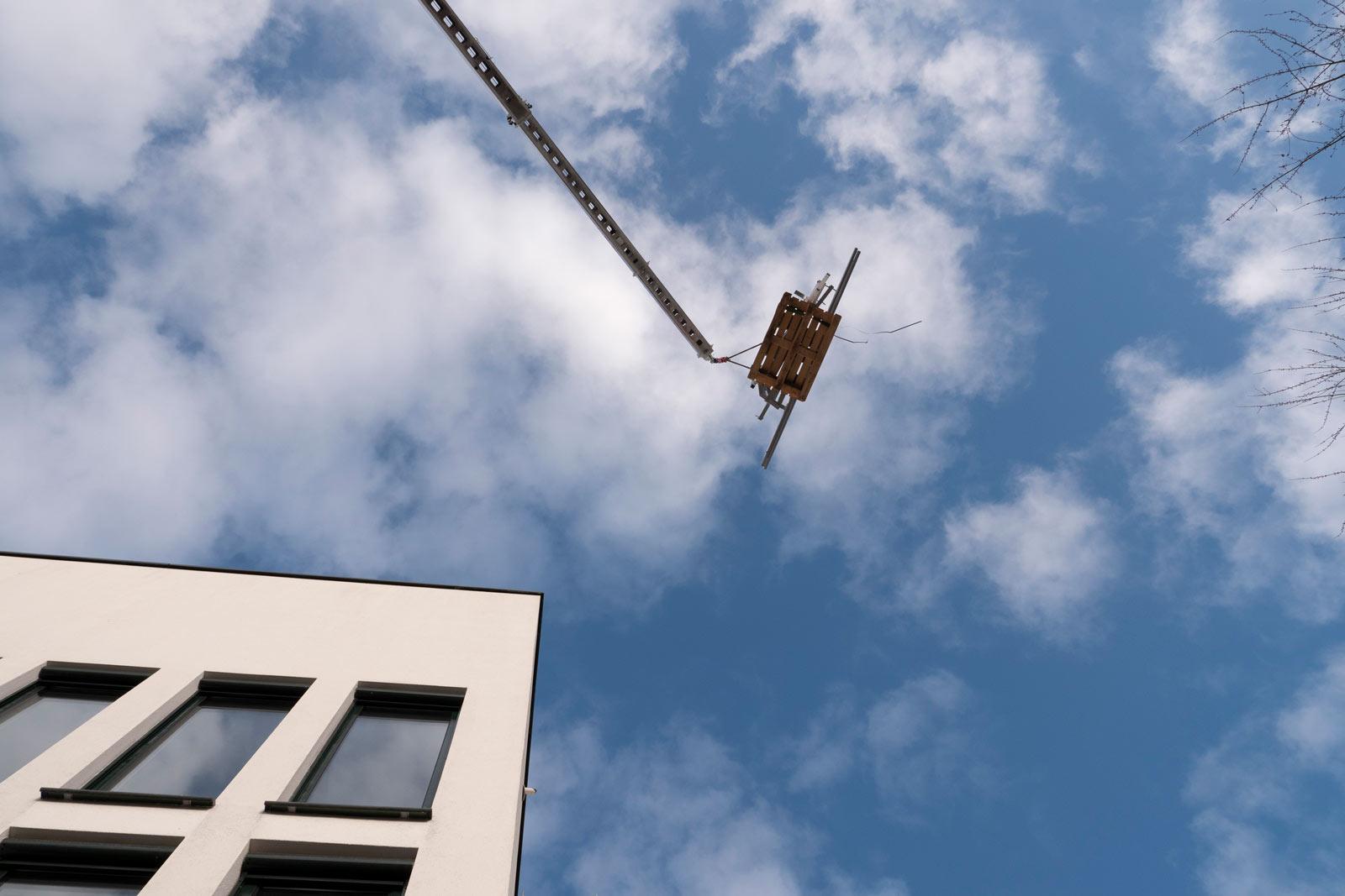 Laat het zware werk over aan de demontabele ladderliften van Geda