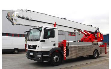 AMAK 180 aluminium autokraan - Vlutters