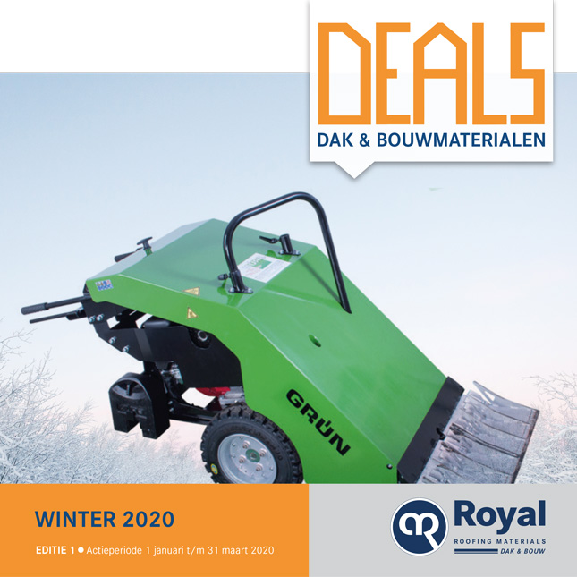 Royal deals 1 | Korting op dakbedekking en dakmaterialen |Royal Roofing Materials