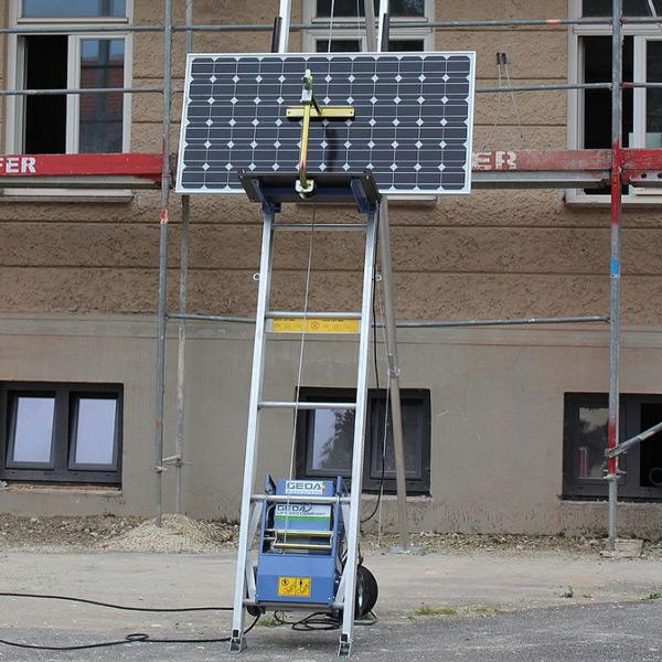 Geda ladderlift solarplateau